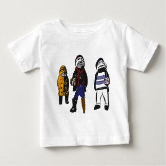 Ahoy piraten! baby t shirts