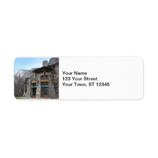 Ahwahnee- Yosemite Etiket