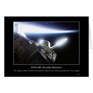 Airglow Effect in de Atmosfeer van de Aarde Kaart