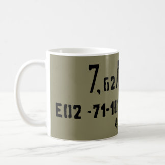 Ak-47 7.62x39 Munitie Spam kunnen Koffiemok