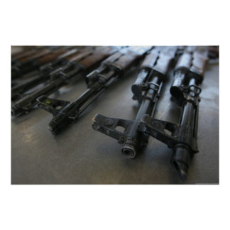 Ak-47 de Geweren van de aanval Poster