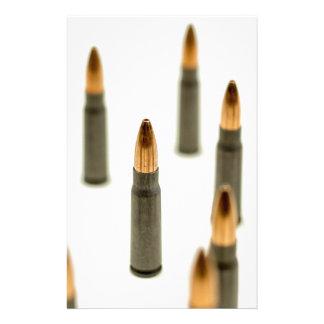 Ak-47 de Patroon 7.62x39 van de Kogel van munitie Briefpapier