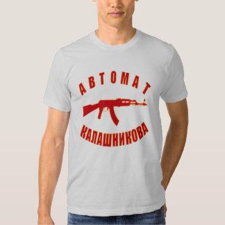 Ak-47 (w/number 47) tshirts