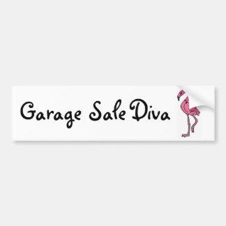 AK- Diva van de garage sale de Sticker van de Bump