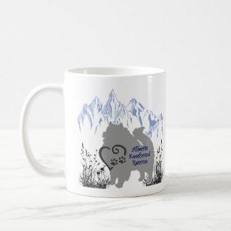 AKR Logo - Blauw Grijs - Koffie & Kees Fur Koffiemok