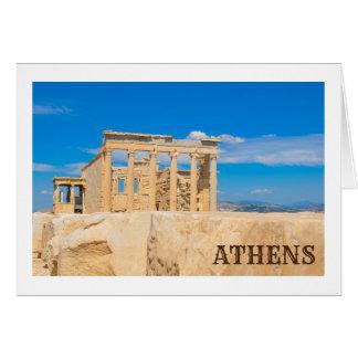 Akropolis in Athene, Griekenland Briefkaarten 0
