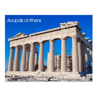 Akropolis van Athene Briefkaart