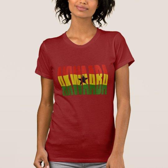Akwaaba - You're Welcome - Twi + Ghana Flag T Shirt