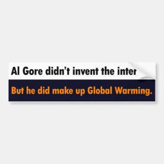 Al Gore vond niet de Internet Sticker van de