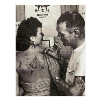 Al Shieferly tattoos namen toe Wenskaarten