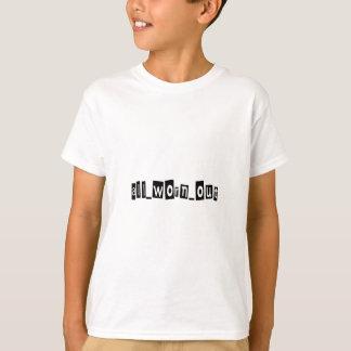Al uitgeput merk t shirt