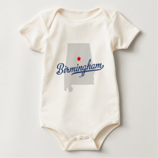 AL van Birmingham Alabama Overhemd Baby Shirt