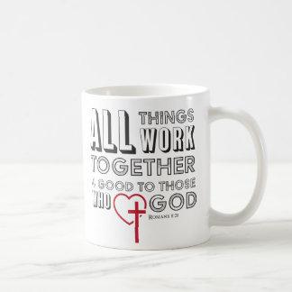 Al Werk van Dingen samen 4 Goede Inspirerend Koffiemok
