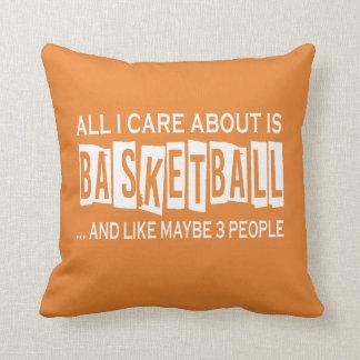Al Zorg van I ongeveer is Basketbal Sierkussen