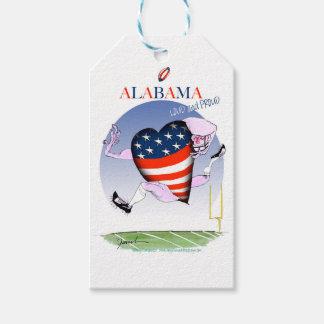 Alabama luide en trotse, tony fernandes cadeaulabel