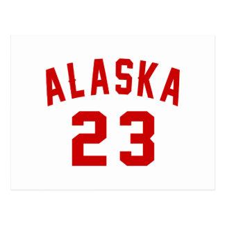 Alaska 23 Design van de Verjaardag Briefkaart