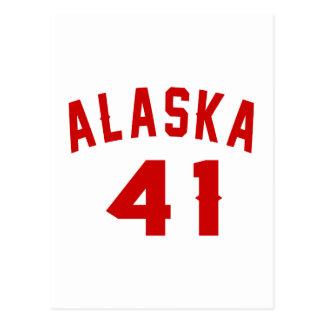 Alaska 41 Design van de Verjaardag Briefkaart