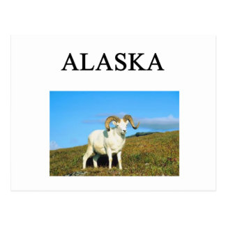 Alaska Briefkaart