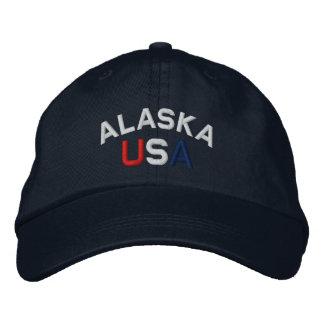 Alaska de V.S. borduurde Marineblauw Pet Petten 0