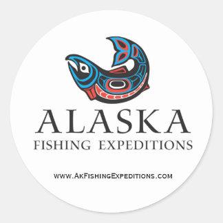 Alaska die sticker Expedtions vissen