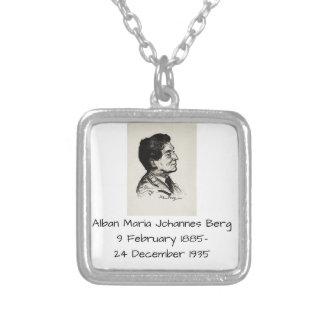 Alban Maria Johannes Berg Zilver Vergulden Ketting