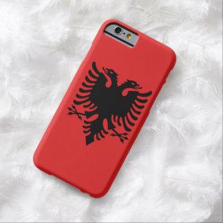 Albanese vlag met twee-geleide adelaar barely there iPhone 6 hoesje
