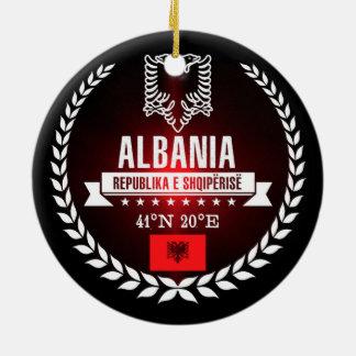Albanië Rond Keramisch Ornament