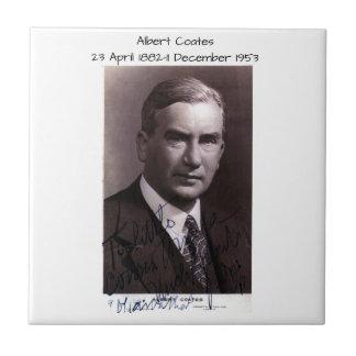 Albert Coates Tegeltje