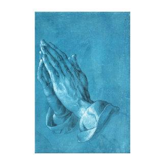 Albrecht Dürer die Handen bidden Canvas Print
