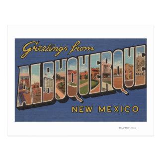 Albuquerque, New Mexico - de Grote Scènes van de Briefkaart