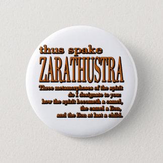Aldus Spake Zarathustra Ronde Button 5,7 Cm