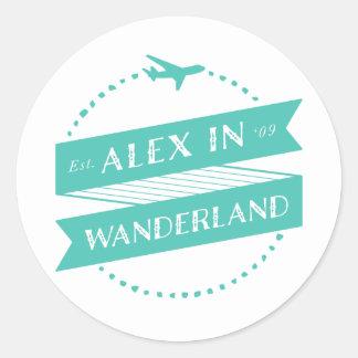 Alex in Stickers Wanderland