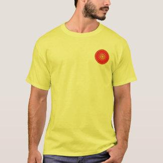 Alexander het Grote Macedonische Rode & Gouden T Shirt