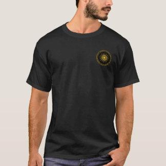 Alexander het Grote Macedonische Zwarte & Gouden T Shirt