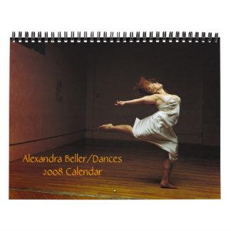 Alexandra Beller/de Kalender van Dansen 2008