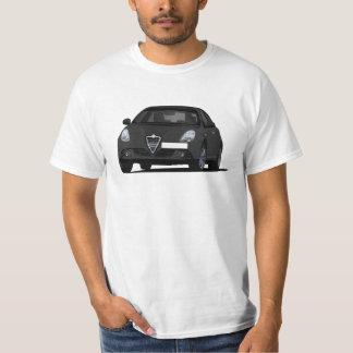 Alfa Romeo Giuletta - zwarte auto T Shirt
