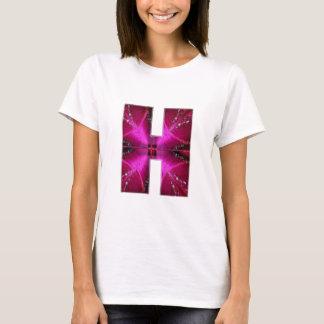 Alfabet H HH HHH:  De Cirkel van de Ster van het T Shirt
