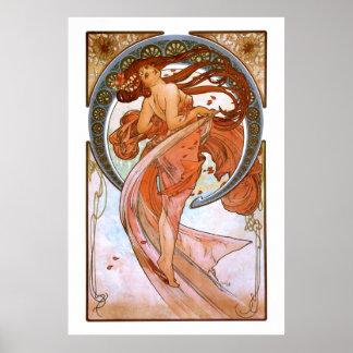 Alfons Mucha: Dans Poster