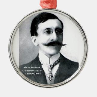 Alfred Bachelet Zilverkleurig Rond Ornament