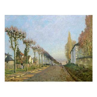 Alfred Sisley   Rue de la Machine, Louveciennes Briefkaart