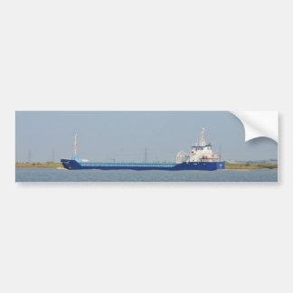 Algemeen Vrachtschip Zeeland Bumpersticker