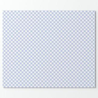 Alice Blue Checkerboard in de Engelse Tuin van het Inpakpapier