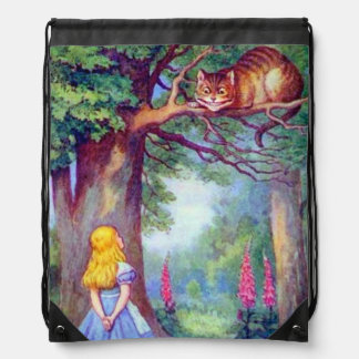 Alice & de Rugzak van de Kleur van de Kat van Ches