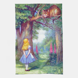 Alice en de Volledige Kleur van de Kat van Theedoek