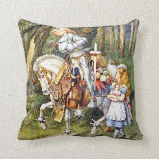 Alice en de Witte Ridder in Sprookjesland Sierkussen