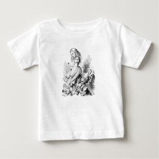 Alice en een Doos van Dieren Baby T Shirts