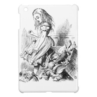 Alice en een Doos van Dieren iPad Mini Hoesjes