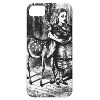 Alice en een Fawn Barely There iPhone 5 Hoesje