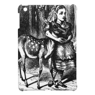 Alice en een Fawn iPad Mini Cases