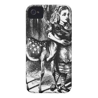 Alice en een Fawn iPhone 4 Hoesje